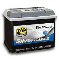 Zap Silver Premium 12V 65Ah 620A jobb+